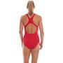 speedo Essential Endurance+ Medalist Badeanzug Damen fed red