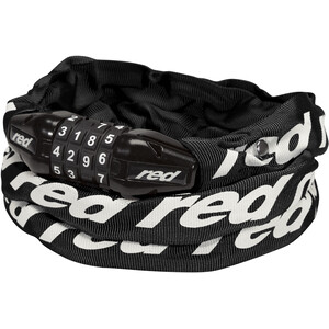 Red Cycling Products Secure Chain Ketjulukko Nollattava, black black