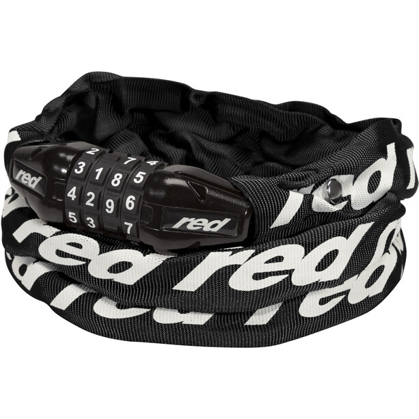Red Cycling Products Secure Chain Ketjulukko Nollattava, black