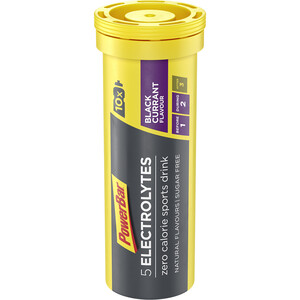 PowerBar 5 Electrolytes Zero Calorie Sports Drink tabletter 10 stk., Black Currant