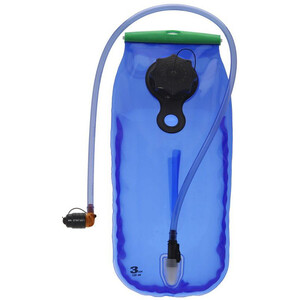SOURCE WXP LP Trinkblase 3 Liter transparent-blue transparent-blue