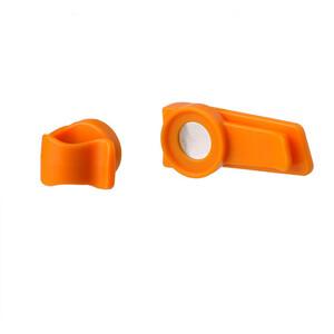 SOURCE Magnetic clip, orange orange