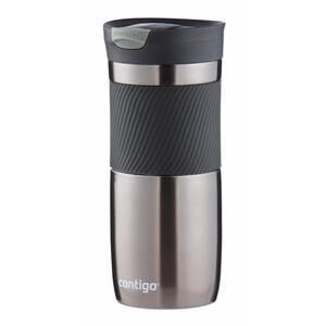 Contigo Snapseal Byron 16 Isolierbecher 470ml grau/schwarz grau/schwarz