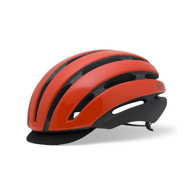 Giro Aspect Helmet glowring red 51-55 cm 2016 Fahrradhelme