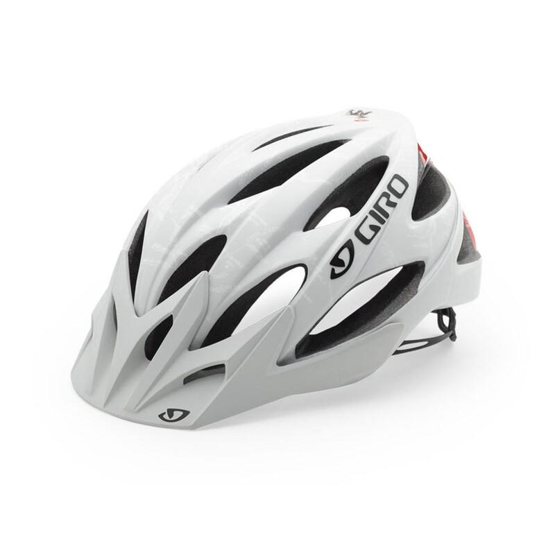 Giro Xar Sykkelhjelmer Hvit 59-63 cm 2016 MTB-hjelmer