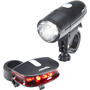 Red Cycling Products Bright LED Light Beleuchtungs Set