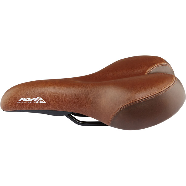 Red Cycling Products City Comfort Plus Saddle, brown