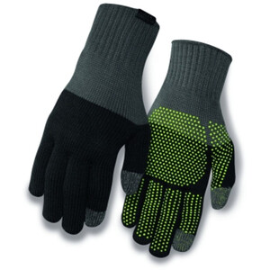 Giro Merino Wool Gants, grey/black grey/black