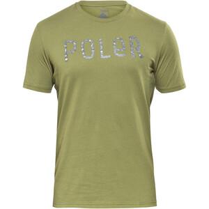 POLER Furry Font SS Shirt Men mossy mossy