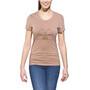 POLER Venn T-Shirt Damen braun