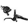 Shimano Deore XT BR-M8000 Scheibenbremse Hinterrad mit J02A Resin/Kühlrippen schwarz