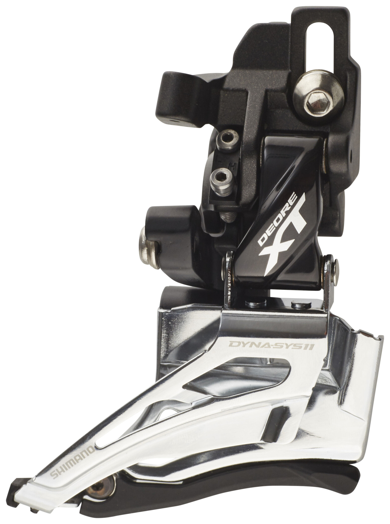 Shimano XT M8025-H 2x11 High Clamp Down Swing Dual Pull Front Derailleur