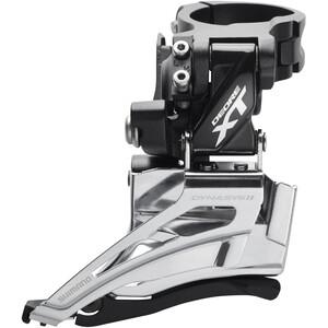 Shimano Deore XT FD-M8025 Umwerfer 2x11-fach Schelle Dual Pull schwarz/silber schwarz/silber