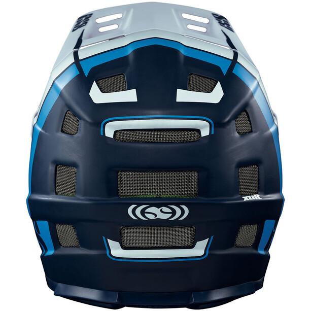 IXS Xult Fullface Helm night blue/blanc