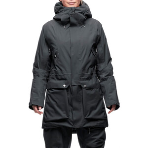 Houdini Spheric Parka Dam true black true black