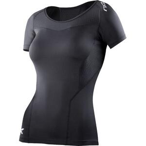 2XU Compression Short Sleeve Top Dam svart svart