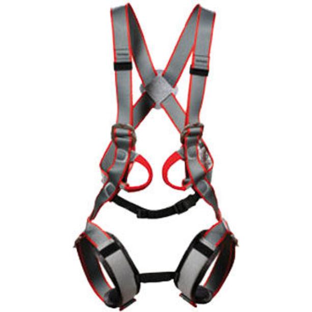 DMM Tom Kitten Full Body Harness Kids grey/black/red