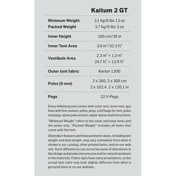 Hilleberg Kaitum 2 GT beige