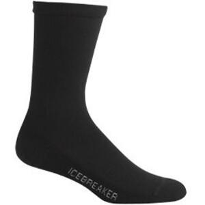 Icebreaker Lifestyle Light Crew Socks Women svart svart