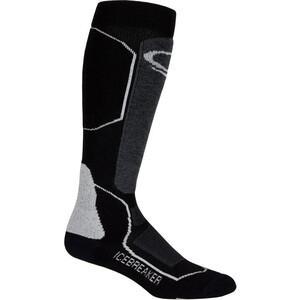 Icebreaker Ski+ Medium OTC Socks Dam black/oil/silver black/oil/silver