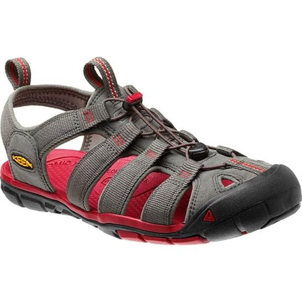 Keen Clearwater CNX Sandals Herr black/gargoyle