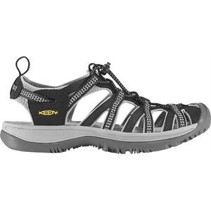 Keen Whisper Sandals Dam black/neutral gray black/neutral gray