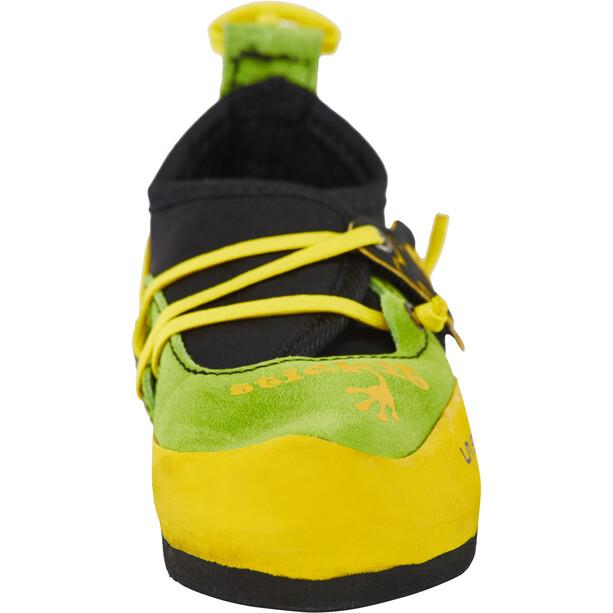 La Sportiva Stickit Climbing Shoes Kids lime/yellow