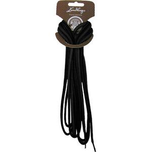 Lundhags Shoe Laces 135cm black black