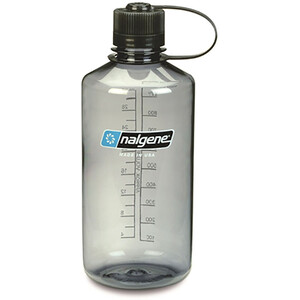 Nalgene NarrowMouth Tritan Flask 1000ml gray gray