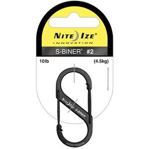 Nite Ize S-Biner Size #2 black black