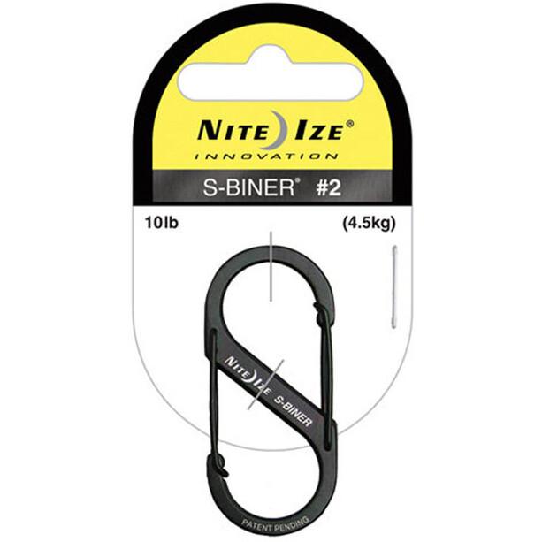 Nite Ize S-Biner Size #2 black