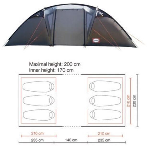 Primus Bifrost H6 Tent grå