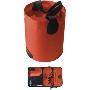 Sea to Summit Folding Bucket 20L orange orange