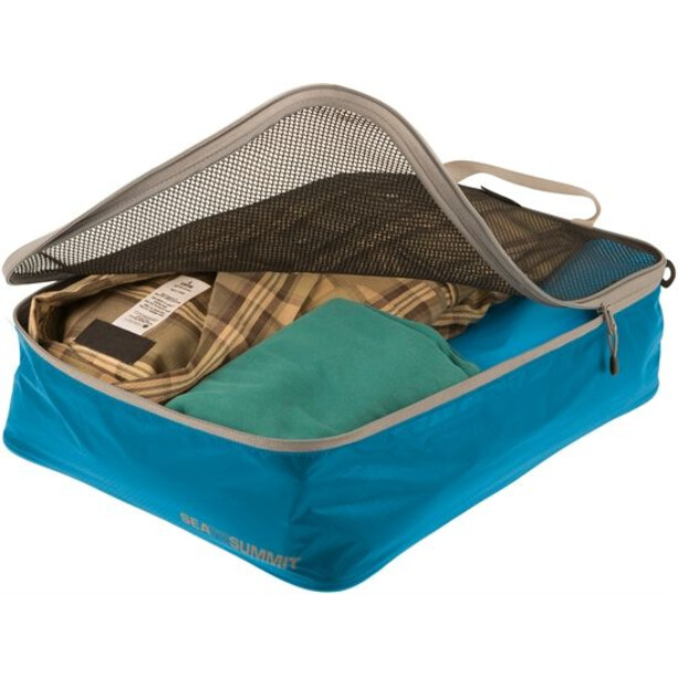 Sea to Summit Travelling Light Garment Mesh Medium blue/grey