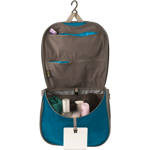 Sea to Summit Travelling Light Hanging Toiletry Large blue/grey