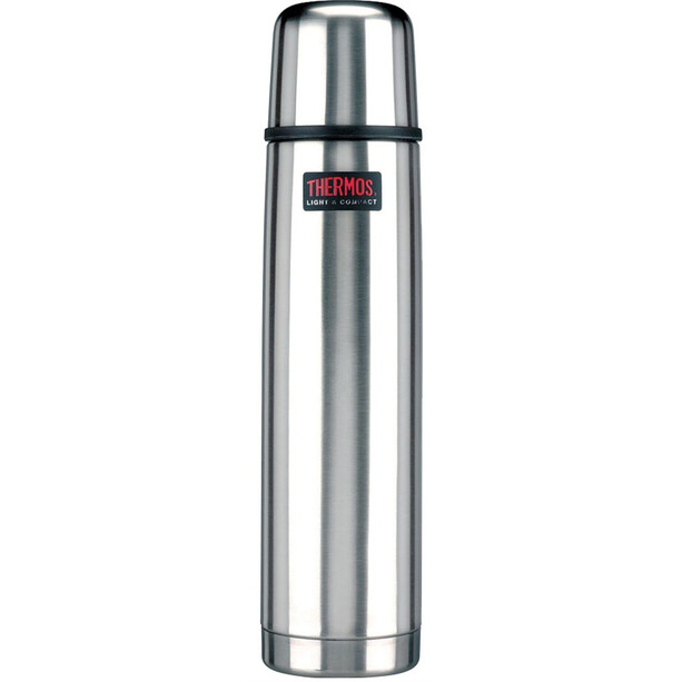 Thermos Light & Compact Thermos 1l brushed steel