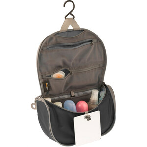 Sea to Summit Travelling Light Hanging Toiletry Small black/grey black/grey