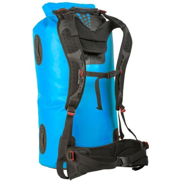 Sea to Summit Hydraulic Dry Pack 65l with Harness blue