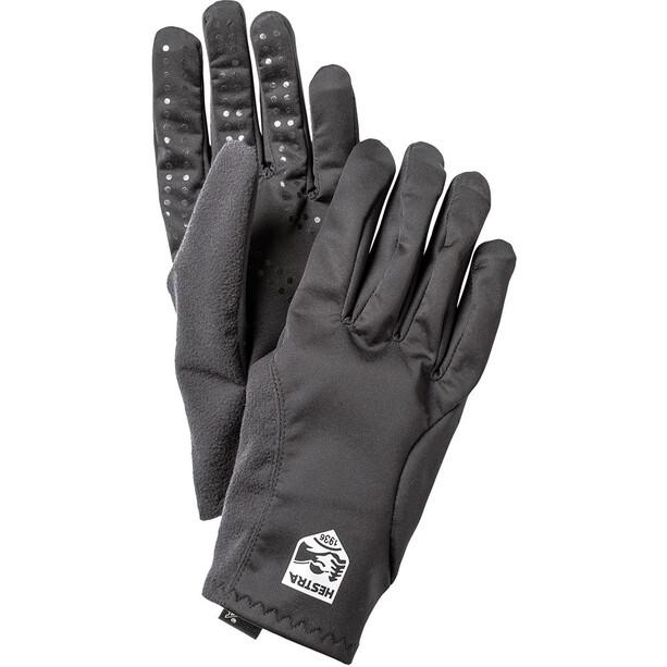 Hestra Runners All Weather 5 Finger Gloves black