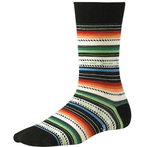 Smartwool Margarita Socks Dam black multi striped black multi striped