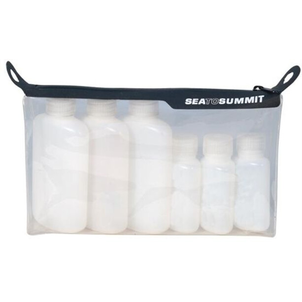 Sea to Summit Travelling Light TPU Clearop Pouch w bottles