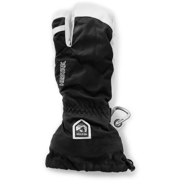 Hestra Army Leather Heli 3-Finger Gloves svart