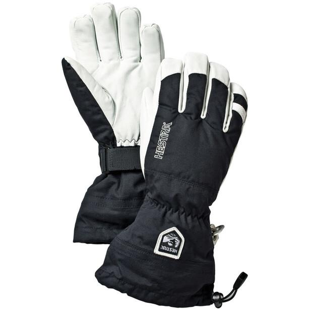 Hestra Army Leather Heli Ski Gloves svart