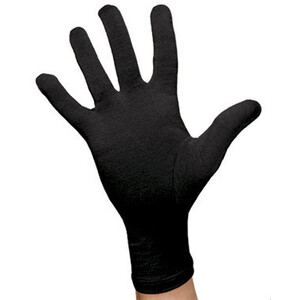 Icebreaker Glove Liner 200 svart svart