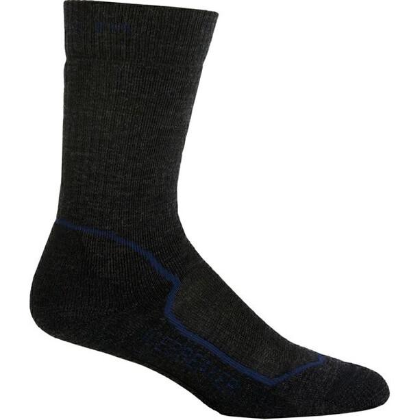 Icebreaker Hike+ Medium Crew Socks Herr jet/planet/black