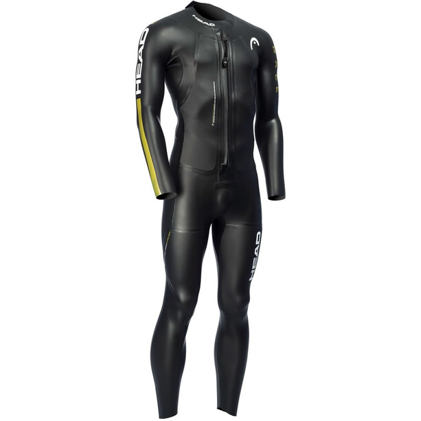 Head SwimRun Race Suit Herr black /gold