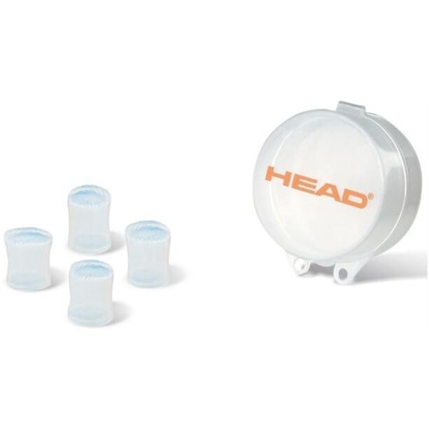 Head Ear Plug Silicone Moulded orange