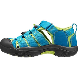 Keen Newport H2 Sandals Ungdomar hawaiian blue/green glow hawaiian blue/green glow