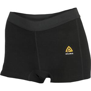 Aclima WarmWool Boxer Shorts Women svart svart