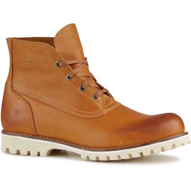 Lundhags Tanner Chucka Shoes cognac